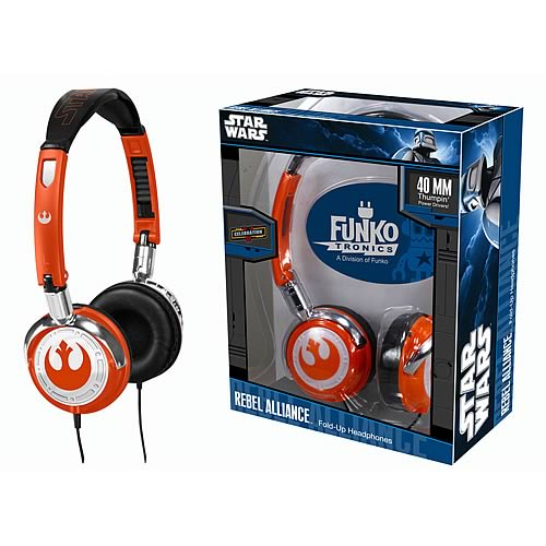 Fold-Up Headphones: Star Wars – Rebel Alliance