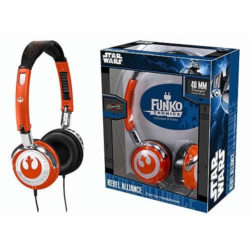 Fold-Up Headphones: Star Wars – Rebel Alliance