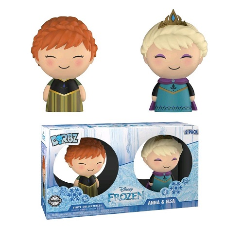 Dorbz : Frozen – Elsa and Anna [2 Pack] (TRU IE)