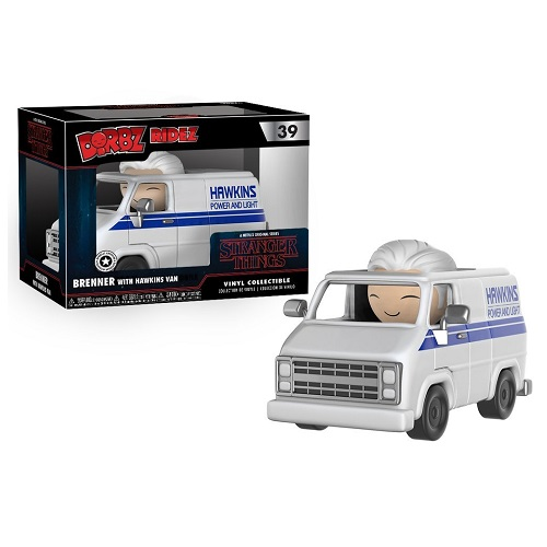Dorbz Ridez 39: Stranger Things - Brenner and Hawkins Van