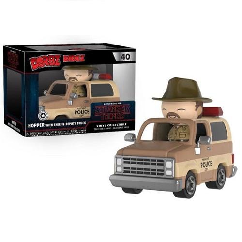 Dorbz Ridez 40: Stranger Things – Hopper & Sheriff Deputy Truck