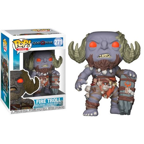 Funko Pop! Games 271: Gears of War - Fire Troll
