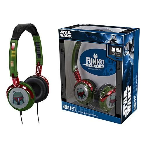 Fold-Up Headphones: Star Wars – Boba Fett
