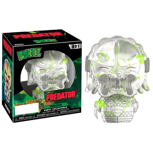 Dorbz 401: Predator - Clear Predator Bloody (GitD) (TRU)