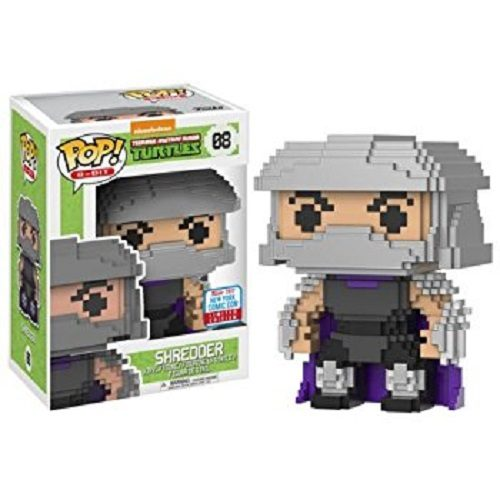 Funko Pop! 8-Bit 08: Teenage Mutant Ninja Turtles - Shredder
