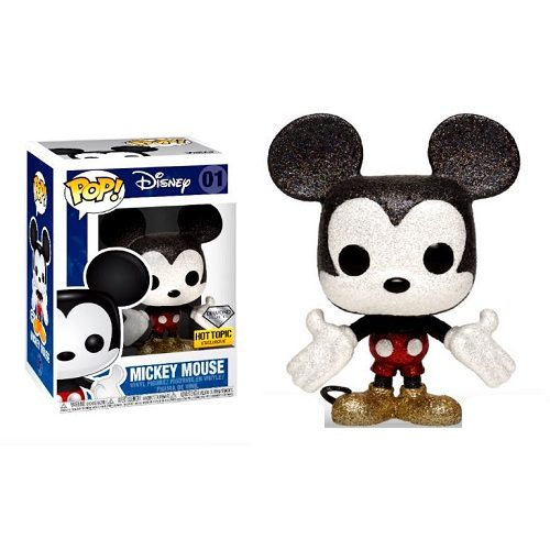Funko Pop! Disney 01: Mickey Mouse (Diamond Glitter) iEX