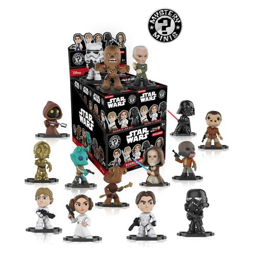 Mystery Mini: Star Wars The Last Jedi (Gamestop EX)