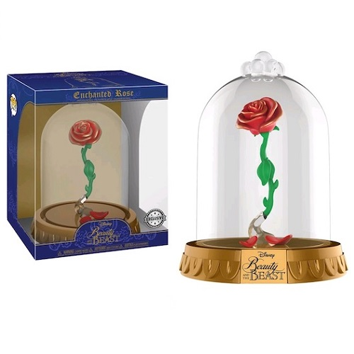 Funko Pop! Disney: Beauty and the Beast – Enchanted Rose in Dome (iEX)