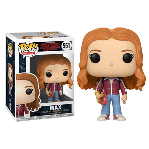 Funko Pop! TV 551: Stranger Things - Max with Skateboard