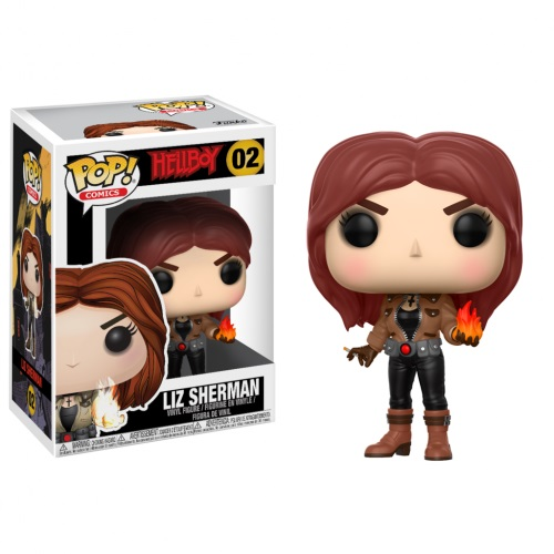 Funko Pop! Comics 02: Hellboy - Liz Sherman
