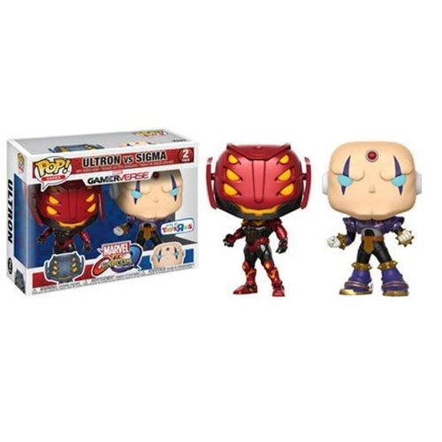 Funko Pop! Games: MvC – Ultron vs Sigma [2 Pack] (TRU EX)