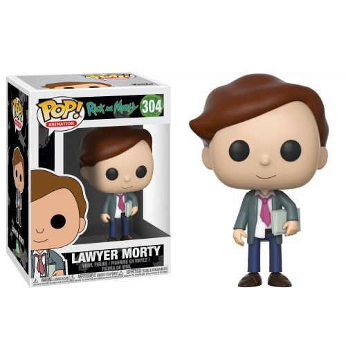 Funko Pop! Animation 304: Rick and Morty - Lawyer Morty