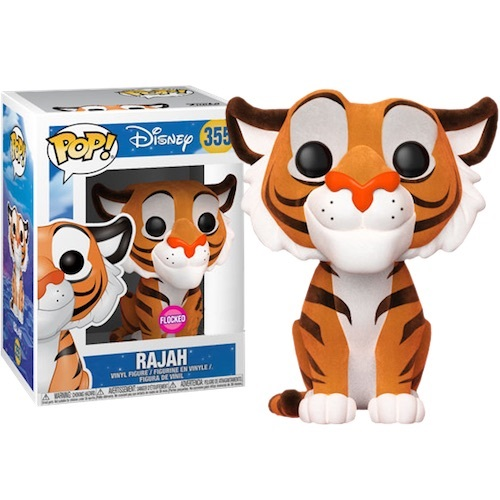 Funko Pop! Disney 355: Aladdin - Rajah [Flocked] (IE)