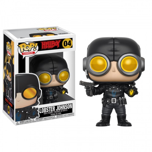 Funko Pop! Comics 04: Hellboy – Lobster Johnson