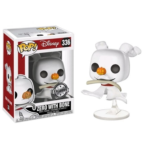 Funko Pop! Disney 336: Nightmare Before Christmas - Zero with Bone