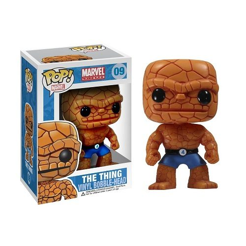Funko Pop! Marvel 09: The Thing (Ex)