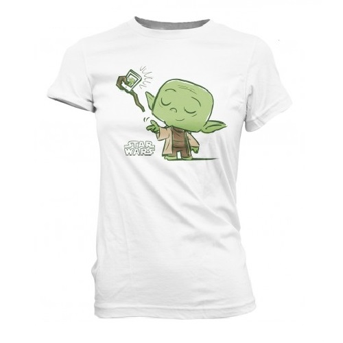 SuperCute Tees: Star Wars -Yode Selfie (XS)