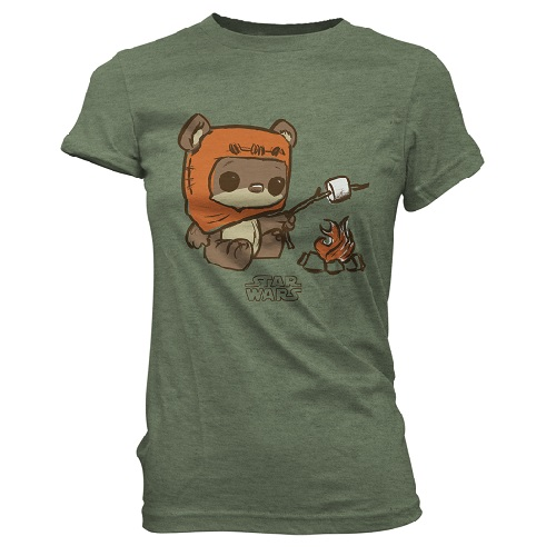 SuperCute Tees: Star Wars -Wicket Roast (XS)