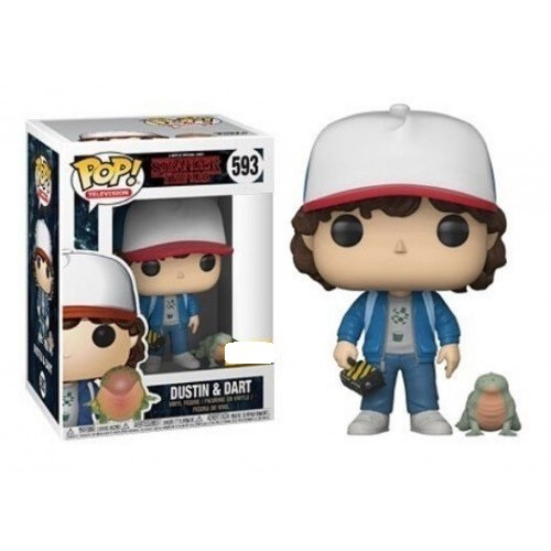 Funko Pop! TV 593: Stranger Things - Dustin with Baby Dart
