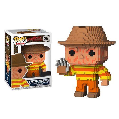 Funko Pop! 8-Bit 25: Freddy Krueger (iEX)
