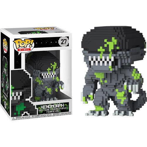 Funko Pop! 8-Bit 27: Alien - Xenomorph [Bloody] (iExclusive)