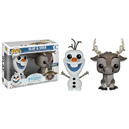 Funko Pop! Disney: Frozen - Olaf and Sven [2 Pack] (iEX)