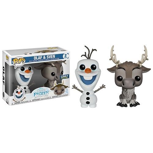 Funko Pop! Disney: Frozen - Olaf and Sven [2 Pack] (iEX)