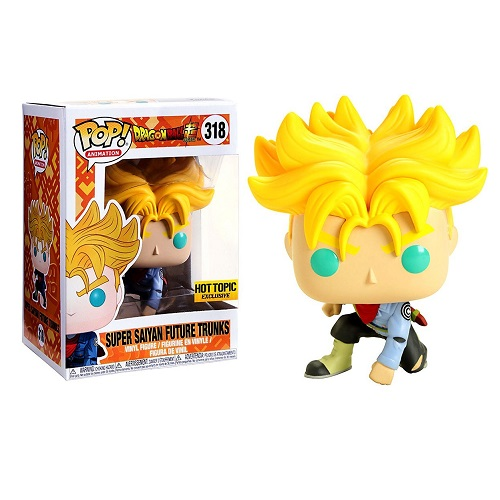 Funko Pop! Animation 318: Dragonball - Super Saiyan Future Trunks (iEX)