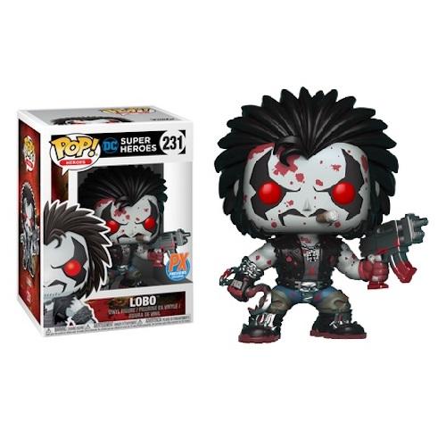 Funko Pop! Heroes 231: Lobo [Bloody] (iEX)