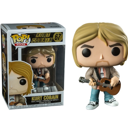Funko Pop! Rocks 67: Kurt Cobain [MTV Unplugged] (IE)