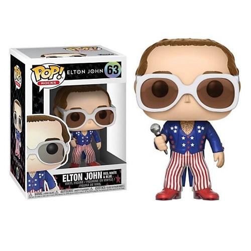 Funko Pop! Rocks 63: Elton John [Red