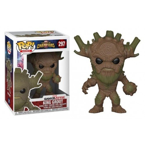 Funko Pop! Games 297: Marvel COC – King Groot