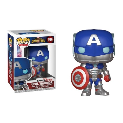 Funko Pop! Games 299: Marvel COC - Civil Warrior