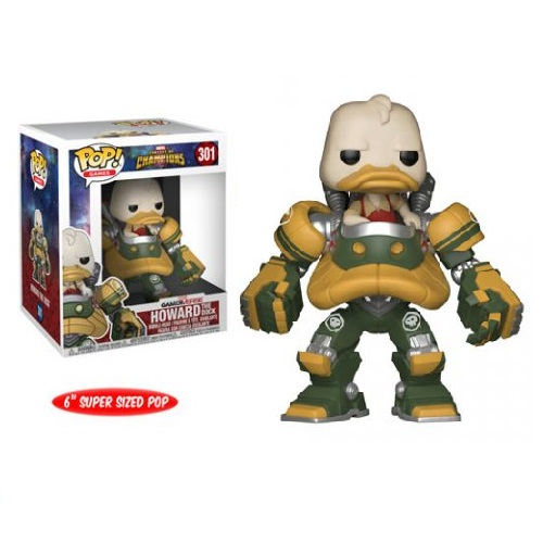 Funko Pop! Games 301: Marvel COC - Howard the Duck Jumbo