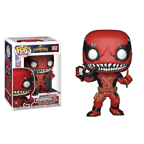 Funko Pop! Games 302: Marvel Contest Of Champion – Venompool with Phone (IE)