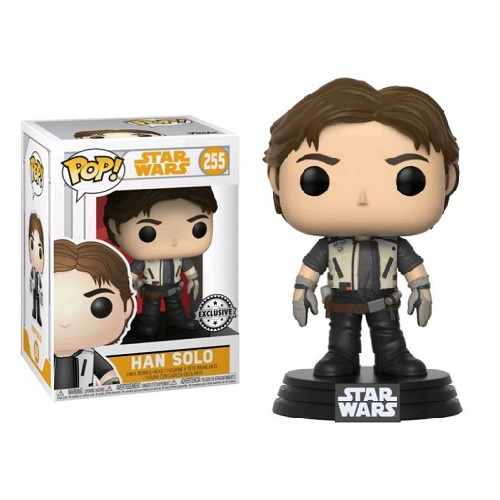 Funko Pop! Star Wars 255: SOLO - Han Solo with Jacket (iEX)