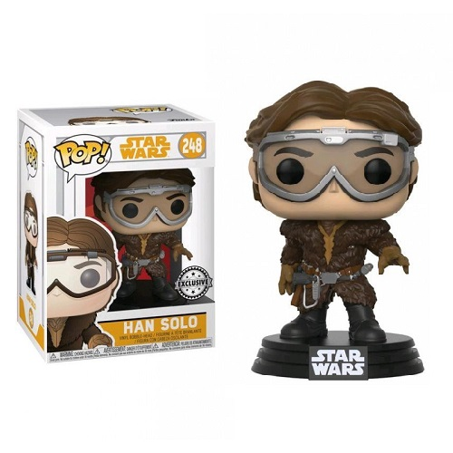 Funko Pop! Star Wars 248: SOLO – Han Solo with Goggles (iEX)