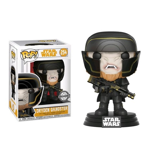 Funko Pop! Star Wars 254: SOLO - Dryden Gangster (iEX)
