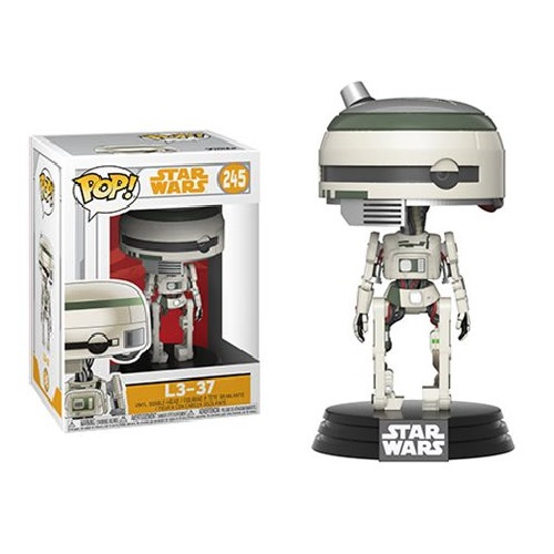 Funko Pop! Star Wars 245: SOLO - L3-37