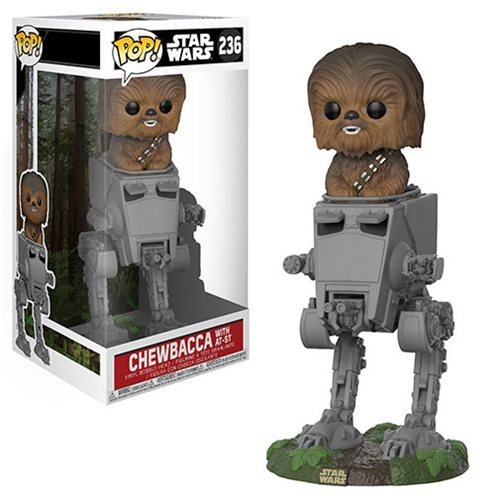 Funko Pop! Deluxe 236: Star Wars - Chewbacca with AT-ST