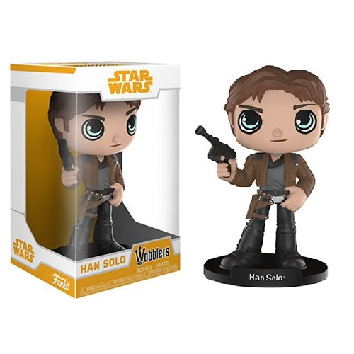 Wobblers Bobble-Heads: Star Wars SOLO - Han Solo
