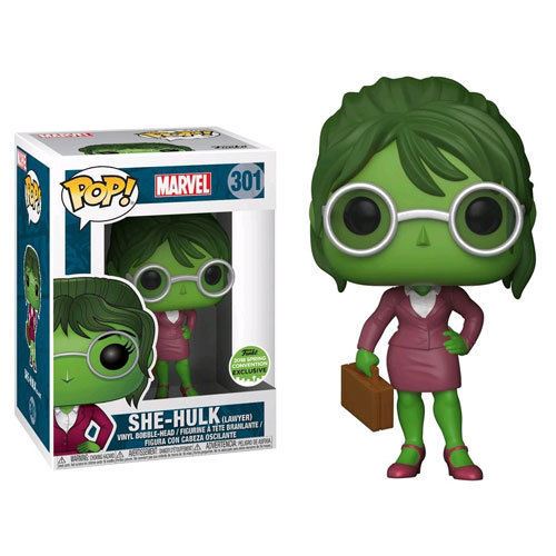 Funko Pop! Marvel 301: Lawyer She-Hulk (ECCC) (EX)