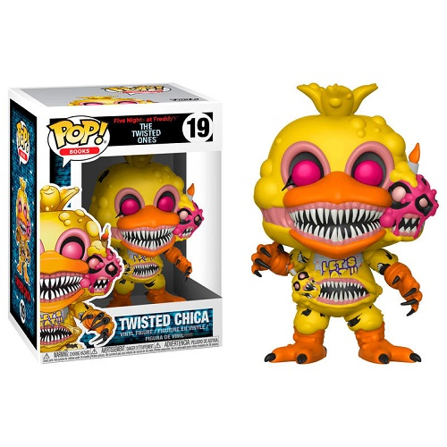 Funko Pop! Books 19: Five Night At Freddy's - Twisted Chica