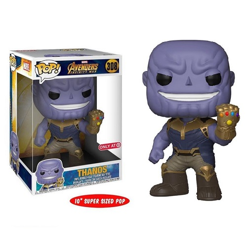 "Funko Pop! Marvel 308: Avengers Infinity War – Thanos [10""] (IE)"