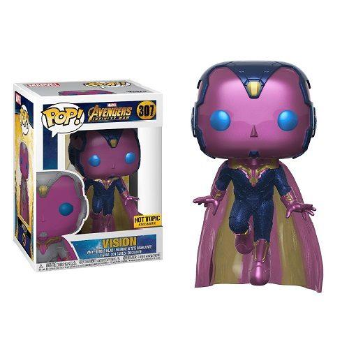 Funko Pop! Marvel 307: Avengers Infinity War - Vision (iEX)