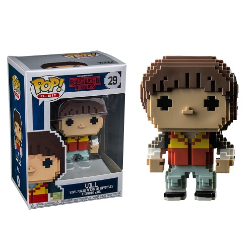 Funko Pop! 8 Bit 29: Stranger Things - Will (IE)