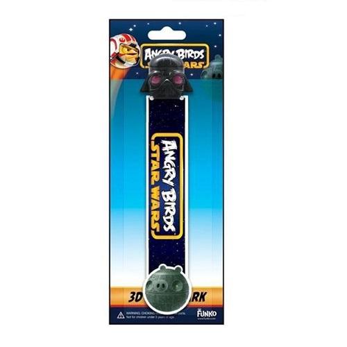 3D Bookmark – Angry Bird Star Wars Darth Vader Pig