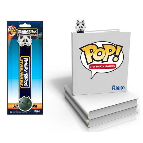 Funko Pop! 3D Bookmark: Angry Bird Star Wars - Stormtrooper Pig