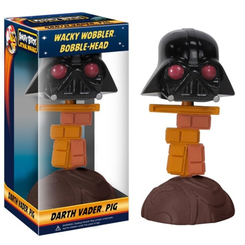 Bobble Head: Star Wars Angry Birds - Darth Vader [Pig]