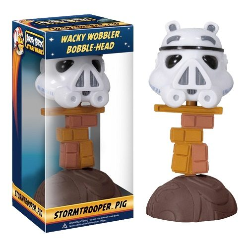 Bobble Head: Star Wars Angry Birds - Stormtrooper [Pig]